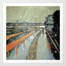 After The Rains Art Print