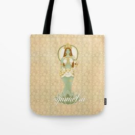 Bow Down to the Goddess Tote Bag