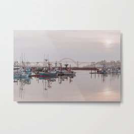 Yaquina Bay Bridge in Newport, Oregon Metal Print