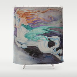 Dream Rider Shower Curtain