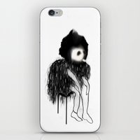 clown iPhone & iPod Skins featuring Clown by Maude Cournoyer