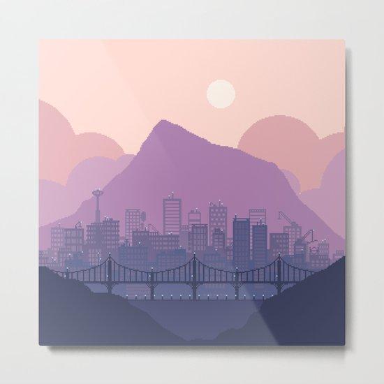 Lavender Morning Metal Print