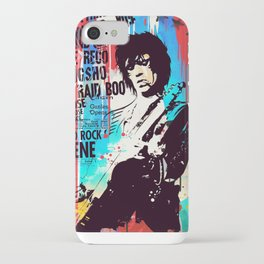 Rolling Stones pop art style iPhone Case
