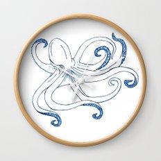 The Kraken Sketch Wall Clock