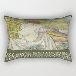 Vintage poster - La Libre Esthetique Rectangular Pillow