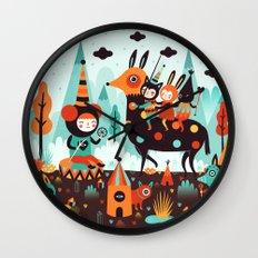 The Spirit Walker Wall Clock