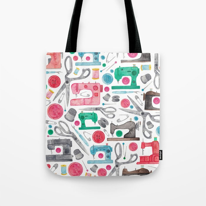 Sewing Pattern. Tote Bag