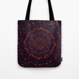 Swirling Mandala Tote Bag