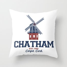 Chatham, Massachusetts Throw Pillow