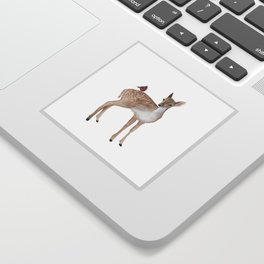 Little fawn Sticker