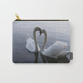 Romatic Swan Couple Carry-All Pouch