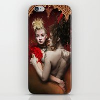 nan lawson iPhone & iPod Skins featuring HVH Nan by House Van Helsing