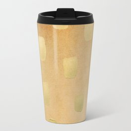 Golden Splotch Haze Travel Mug