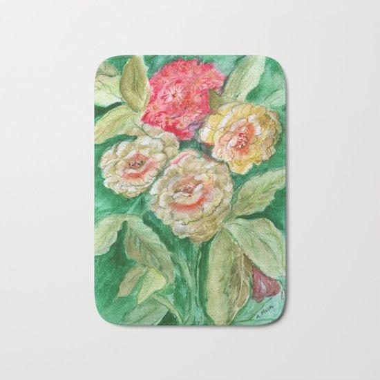 Floral Fusion Bath Mat
