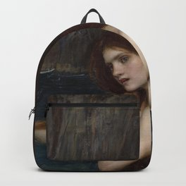 A MERMAID - WATERHOUSE Backpack