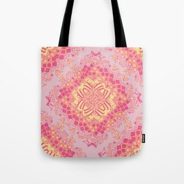 Love Butterfly Pattern Tote Bag