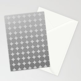 White Circles Stationery Cards