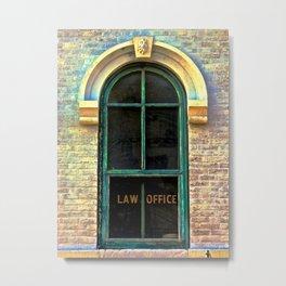 Law Office Metal Print