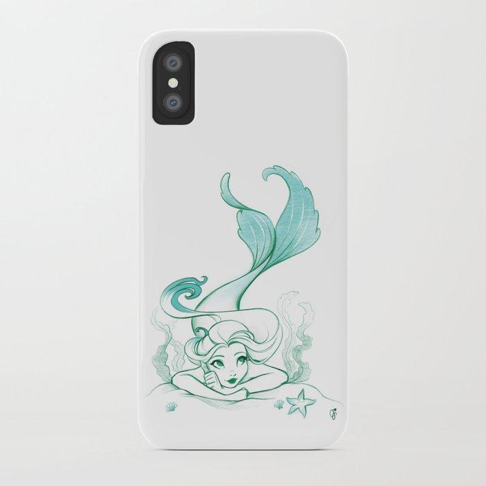 Seaweed Mermaid iPhone Case