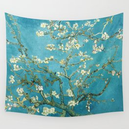 Almond Blossoms by Vincent van Gogh Wall Tapestry