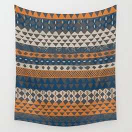Hand-Painted Ethnic Pattern Wall Tapestry