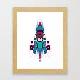 The Mega Man Framed Art Print