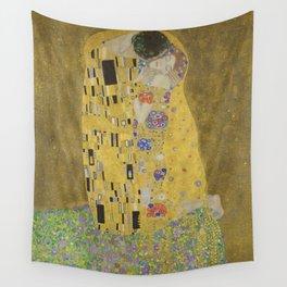 Gustav Klimt - The Kiss Wall Tapestry