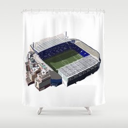 Stamford Bridge Stadium Shower Curtain