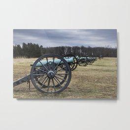 Heavy Artillery Metal Print