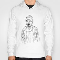 liam payne Hoodies featuring Liam Payne  by Cécile Pellerin