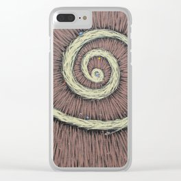 LSD vision - deep space Clear iPhone Case