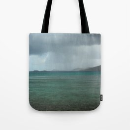 Island Storm Tote Bag