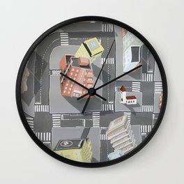Pharmaville - urban living Wall Clock