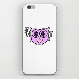 You are a Hoot! iPhone Skin