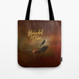 Ground Level Tote Bag