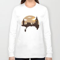 sherlock Long Sleeve T-shirts featuring Sherlock by Typo Negative