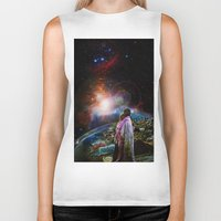 woodstock Biker Tanks featuring Woodstock Love Vibrant by ZiggyChristenson