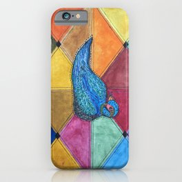 Quilted Bird iPhone Case