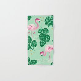 Flamingo Friends Hand & Bath Towel