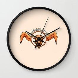 Buffalo Wings, Won't You Come Home Tonight? Wall Clock