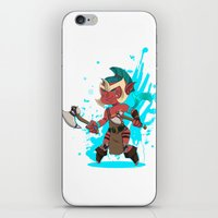 dota iPhone & iPod Skins featuring Troll Warlord by Angxix