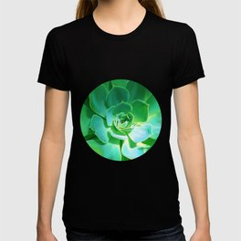 GREEN SUCCULENT T-shirt