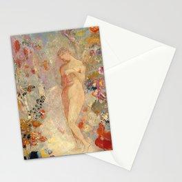 Pandora by Odilon Redon, 1914 Stationery Cards