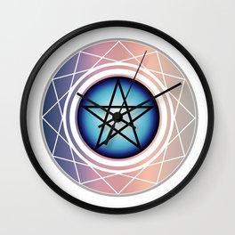 The Pentagram Wall Clock