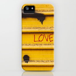 Love You, New York iPhone Case