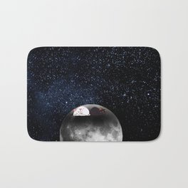 Moon Cats Bath Mat
