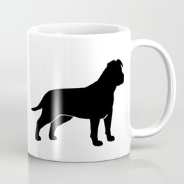 American Staffordshire Terrier Silhouette(s) Coffee Mug