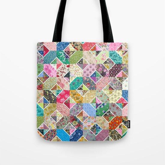 Betty's Diamond Quilt Tote Bag