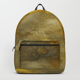 Gold and Bronze Watercolor Backpack