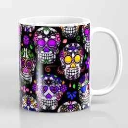 Candy Skulls Coffee Mug